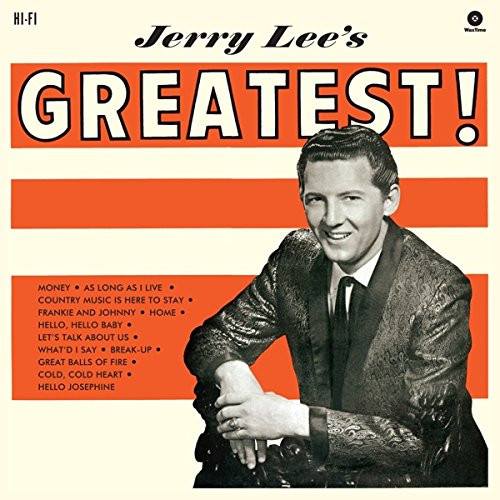 Jerry Lee's Greatest! (1961)...plus 180g Vinyl Limited Edition