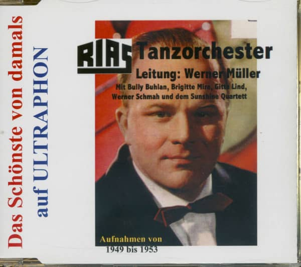 Werner Müller - Rias Tanzorchester Aufnahmen von 1949-1953 - Das Schönste Von Damals (CD)