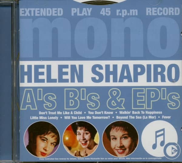 A's, B's & EP's (CD)