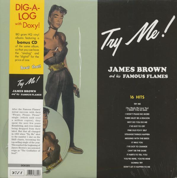 Try Me (LP & CD, 180g Vinyl)