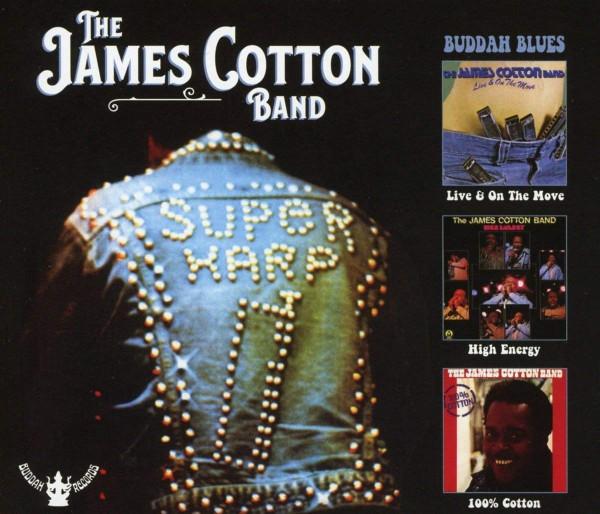 Buddah Blues: Live & On The Move / High Energy / 100 % Cotton (3-CD)