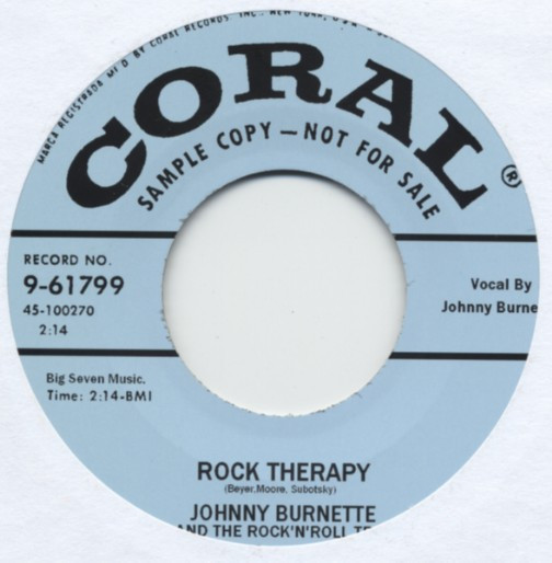 Rock Therapy b-w Sweet Love On My Mind 7inch, 45rpm