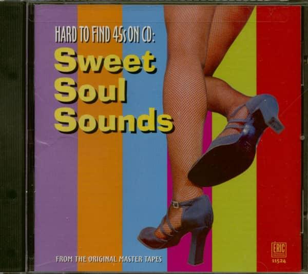 Hard To Find 45s On CD - Sweet Soul Sound (CD)