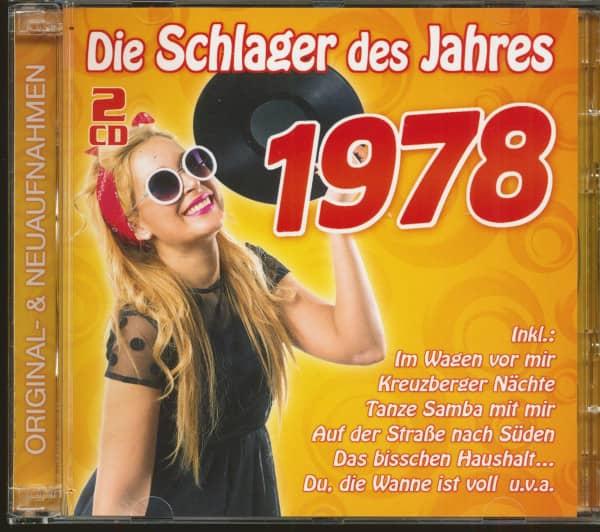 Die Schlager des Jahres 1978 (2-CD)