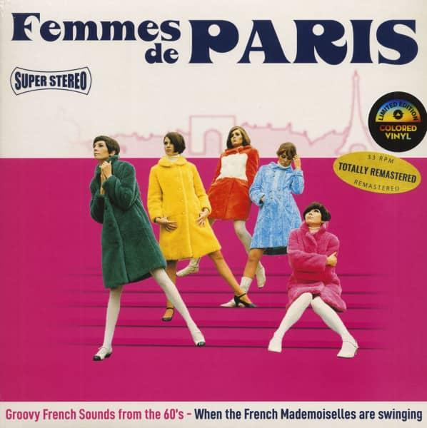 Femmes De Paris (LP, Pink Vinyl, Record Store Day Edition, Ltd.)
