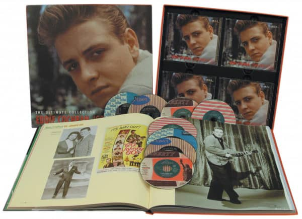 The Ultimate Collection - Eddie Cochran - Somethin' Else! (8-CD Deluxe Box Set)