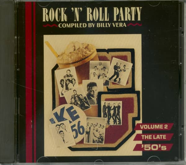 Rock & Roll Party Vol.2 - The Late 50s (CD)