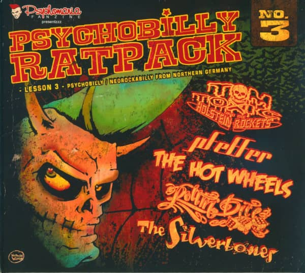 Psychobilly Rat Pack - Lesson 3 (CD Digipak)