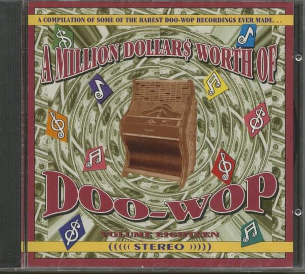 A Million Dollars Worth Of Doo-Wop Vol.18 (CD)
