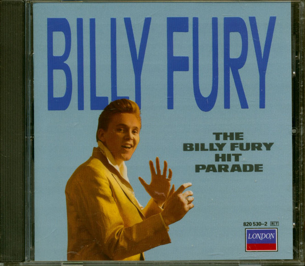 The Billy Fury Hit Parade (CD)