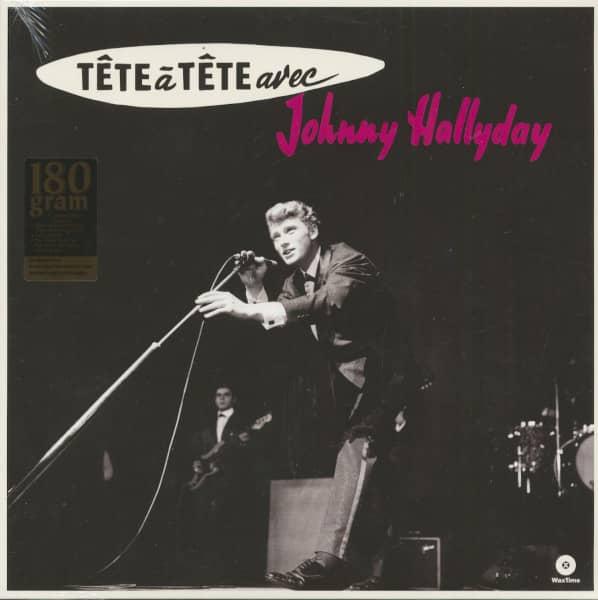 Tete A Tete Avec Johnny Hallyday (LP, 180g Vinyl)
