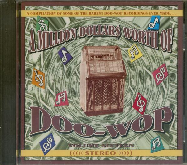 A Million Dollars Worth Of Doo-Wop Vol.16 (CD)