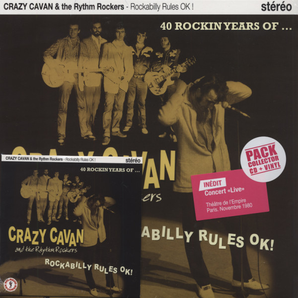Rockabilly Rules OK! (25cmLP&CD)