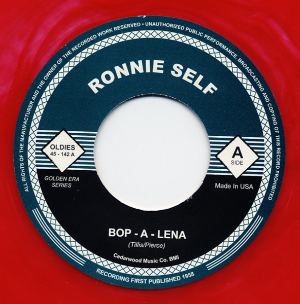 Bop-A-Lena - Jungle Rock 7inch, 45rpm (colored vinyl)