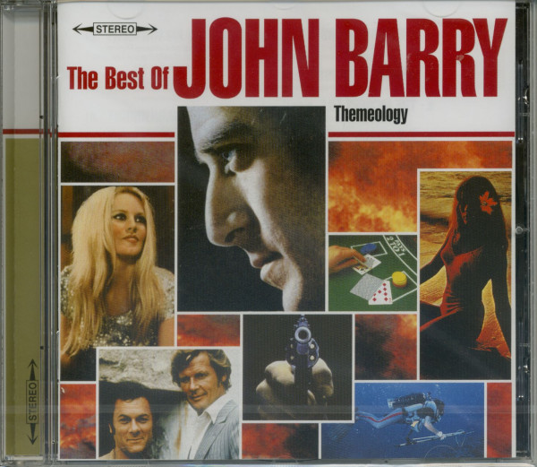 Themeology - The Best Of John Barry (CD)