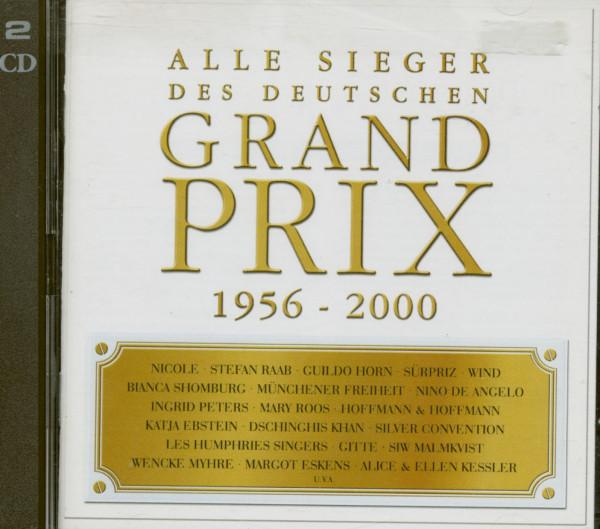 Grand Prix 1956-2000 Alle Sieger 2-CD