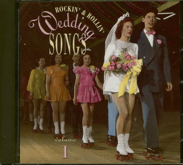 Rockin' & Rollin' Wedding Songs Vol.1 (CD)