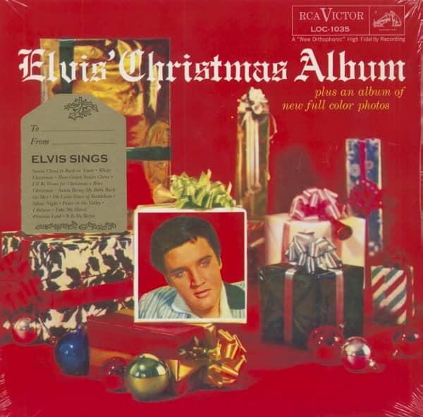 Elvis' Christmas Album (LP, HQ Vinyl, Gatefold)