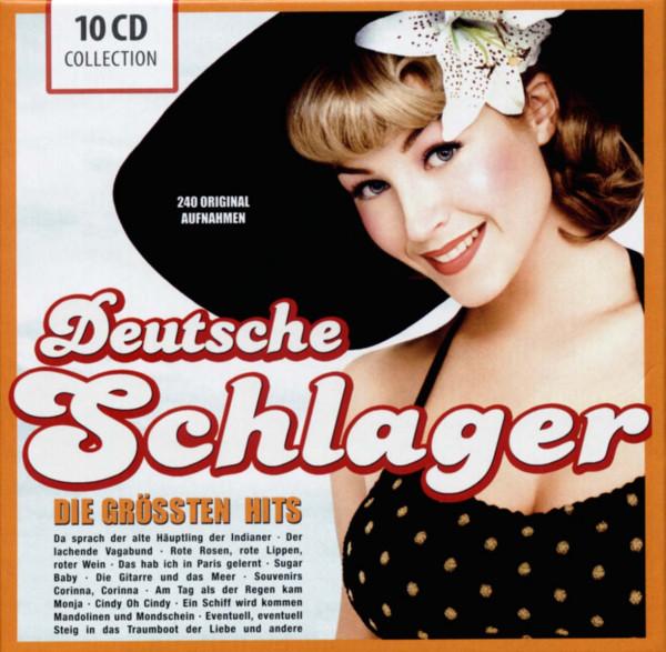 Deutsche Schlager - Die größten Hits (10-CD)