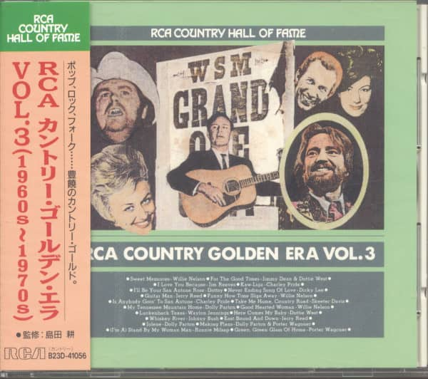 RCA Country Hall Of Fame - Golden Era Vol.3 (CD, Japan)