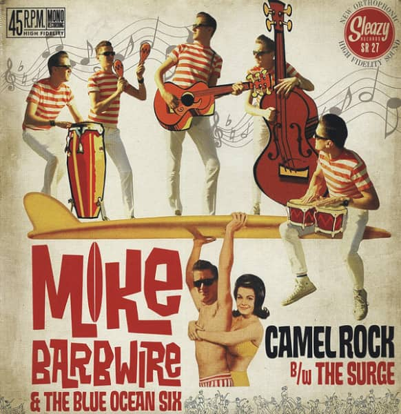 Camel Rock - The Surge 7inch, 45rpm, PS