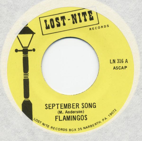 September Song b-w Vooit Vooit 7inch, 45rpm