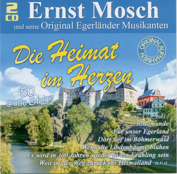 Ernst Mosch und seine Original Egerländer Musikanten - Die Heimat im Herzen (2-CD)