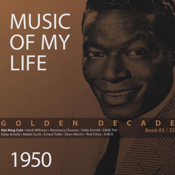 1950 Golden Decade (Book & 4-CD) #5-25