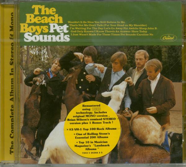 Pet Sounds (CD - Mono & Stereo...plus)
