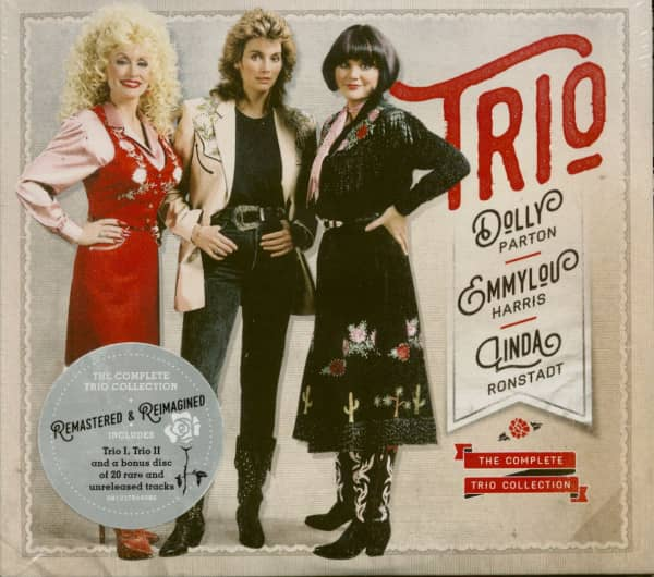 Dolly Parton, Linda Ronstadt, Emmylou Harris - The Complete Trio Collection (3-CD)