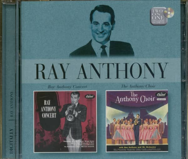 Ray Anthony Concert - The Anthony Choir (CD)