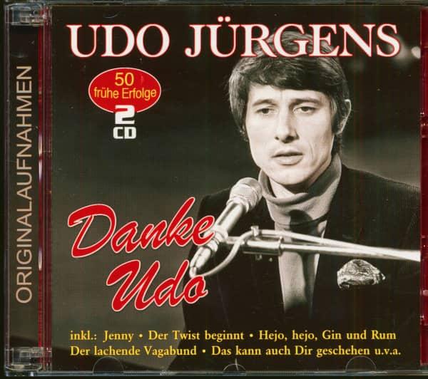 Danke Udo – 50 frühe Erfolge (2-CD)