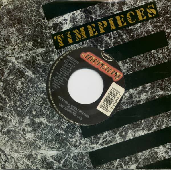 Remember (Walkin' In The Sand) - Give Him A Great Big Kiss (7inch, 45rpm, BC, CS)