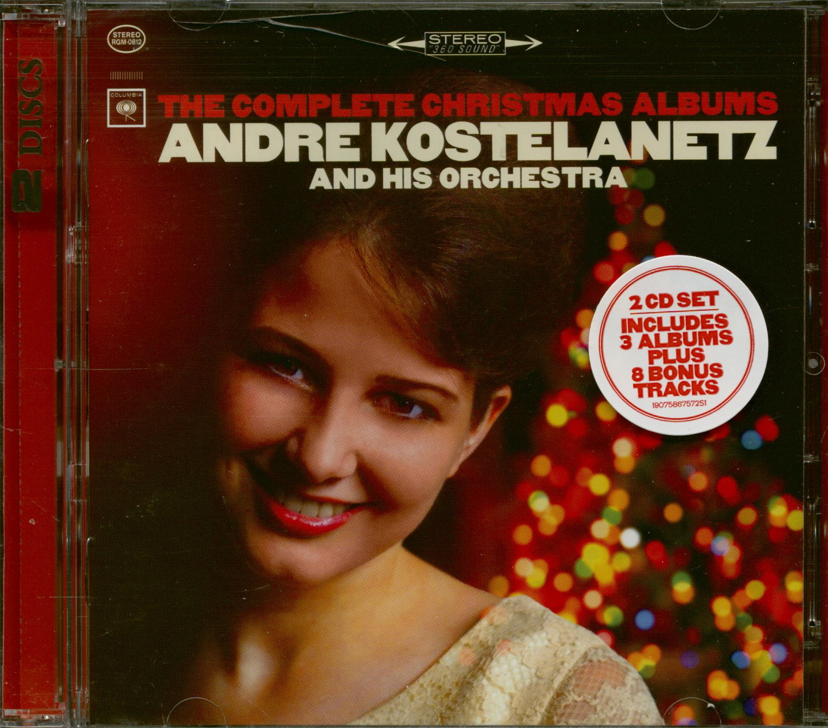 Andre Kostelanetz And His Orchestra CD: The Complete Christmas ...