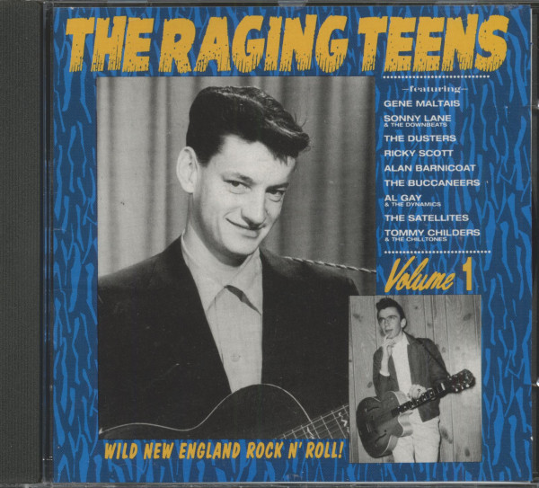 The Raging Teens - Wild New England Rock'n'Roll Vol.1 (CD)