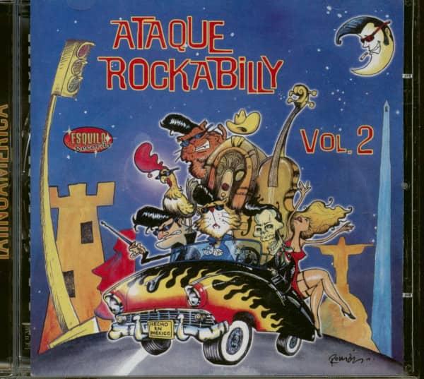 Ataque Rockabilly Vol.2 (CD)