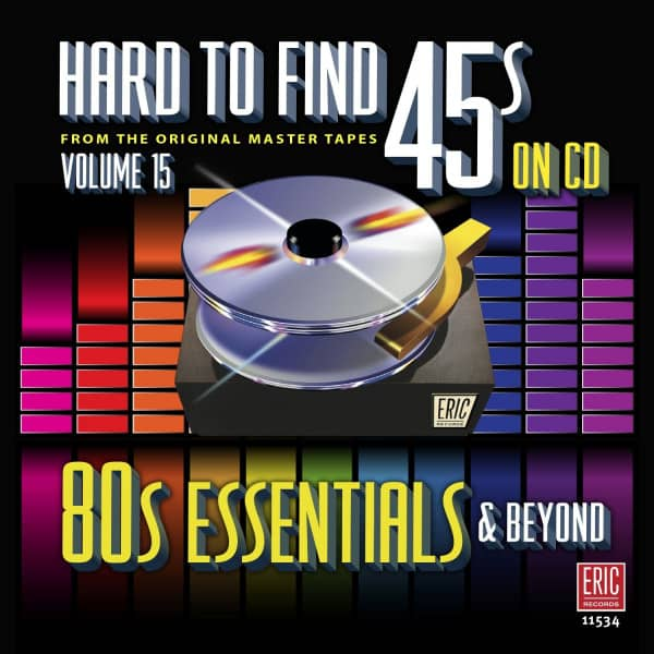 Hard To Find 45s On Cd vol.15 - 80's Essentials (CD)