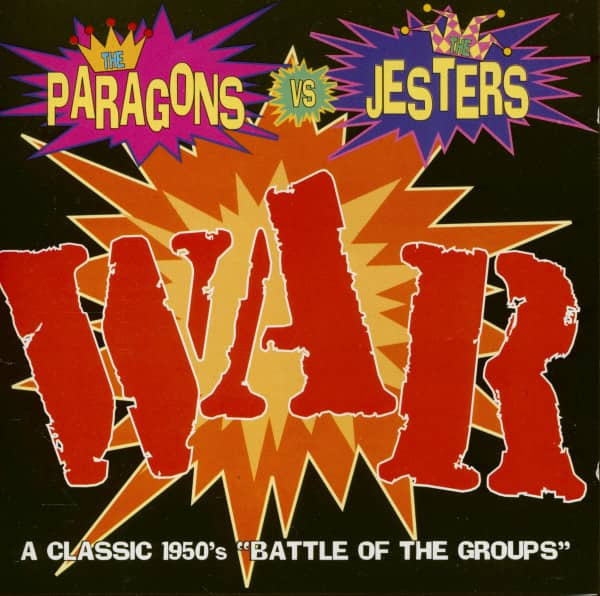 The Paragons vs. The Jesters - War (Battle Of The Groups) (CD)