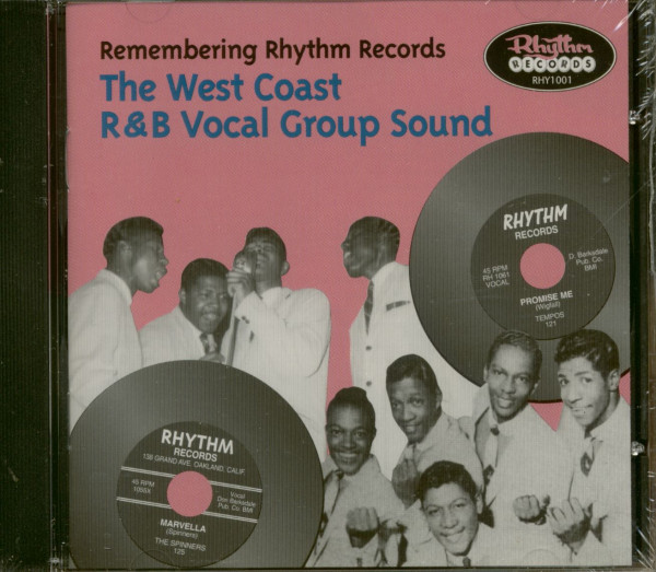 Remembering Rhythm Records - The West Coast R&B Vocal Group Sound (CD)