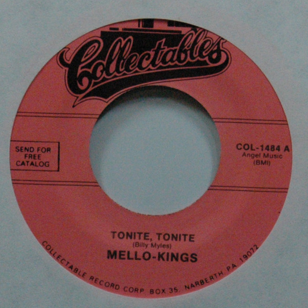 Tonite, Tonite b-w Do Baby Do 7inch, 45rpm