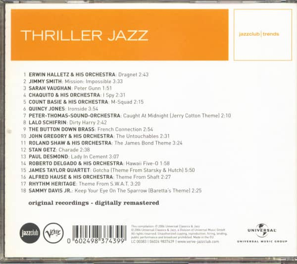 Thriller Jazz (CD)