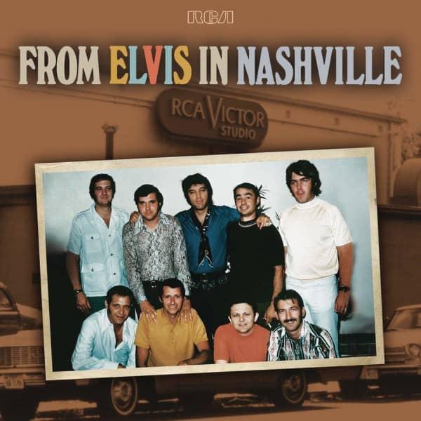 From Elvis In Nashville (2-LP)