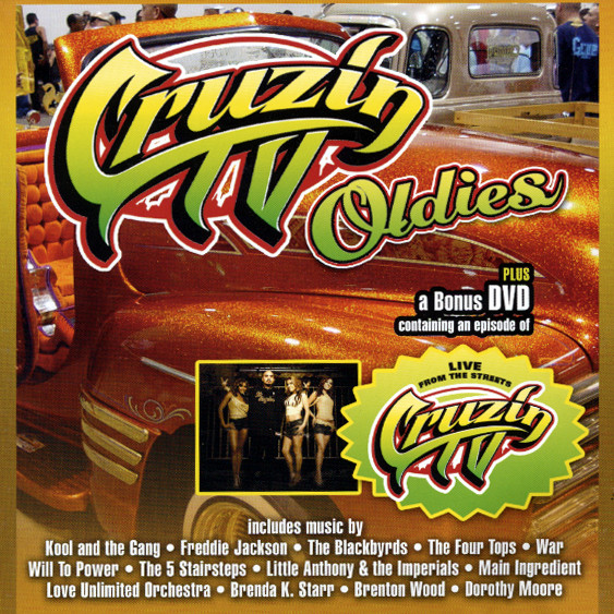 Cruzin TV Oldies CD & Bonus DVD