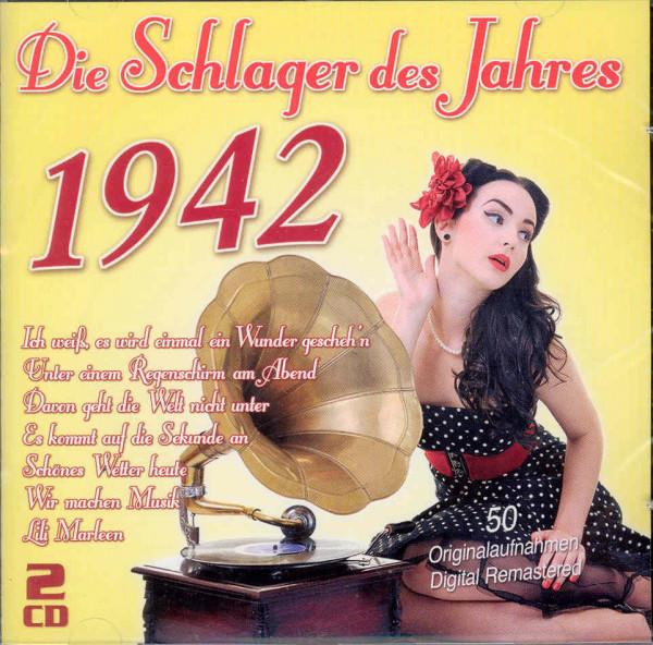 Die Schlager des Jahres 1942 (2-CD)