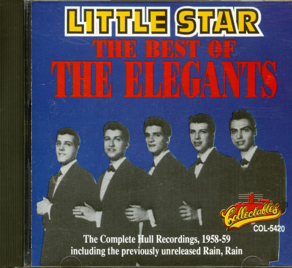 Little Star - The Best Of Elegants (CD)