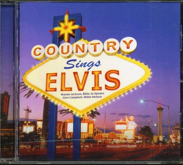 Country Sings Elvis (CD)
