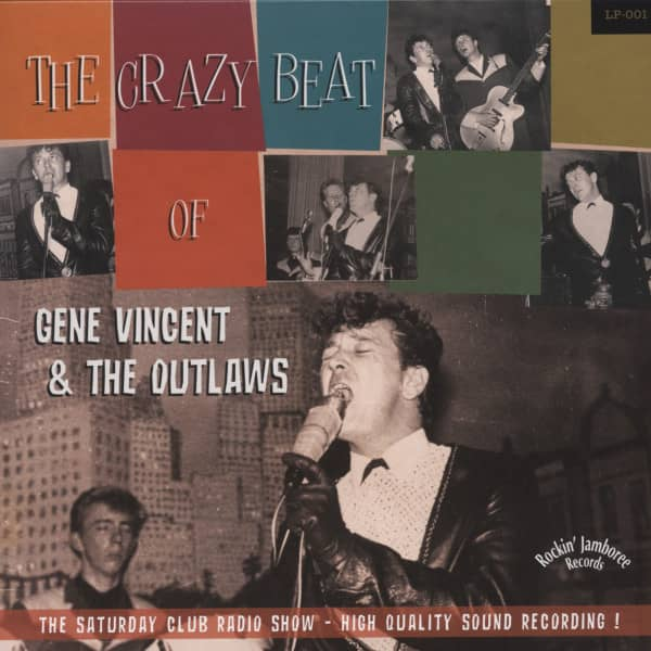 The Crazy Beat Of Gene Vincent & The Outlaws (10inch Vinyl LP)