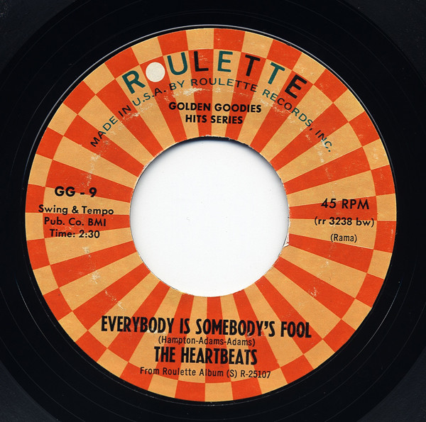 Everybody Is Somebodys Fool - I Won't... 7inch, 45rpm