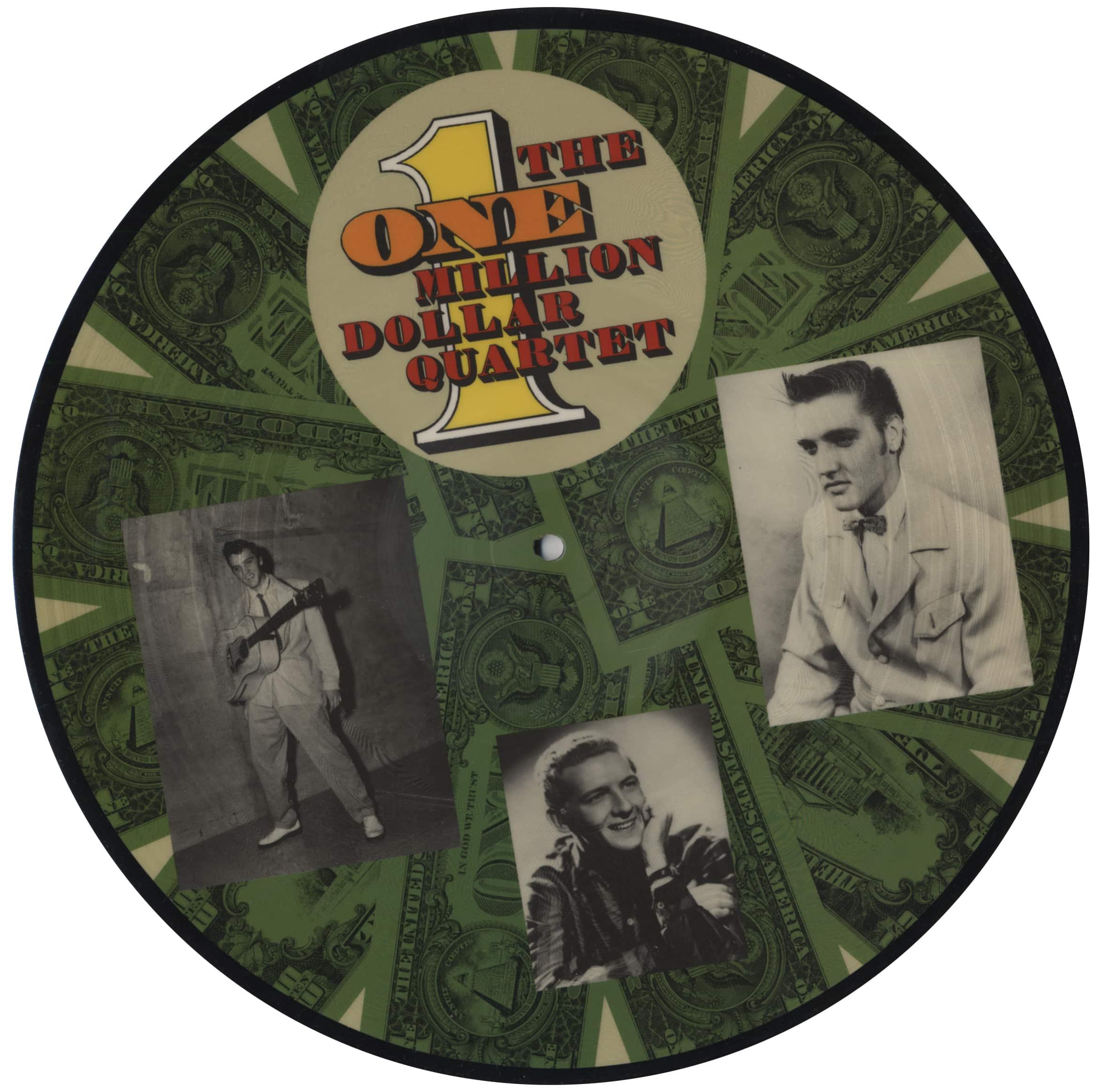 The Million Dollar Quartet Lp The One Million Dollar