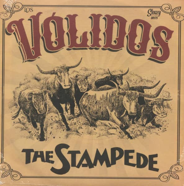 The Stampede (7inch, EP, 45rpm, PS, Ltd.)